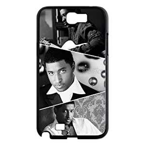 Custom Famous Singer Babyface Printed Hard Plastic Back Protective Case for Samsung Galaxy Note2 N7100 FC-4