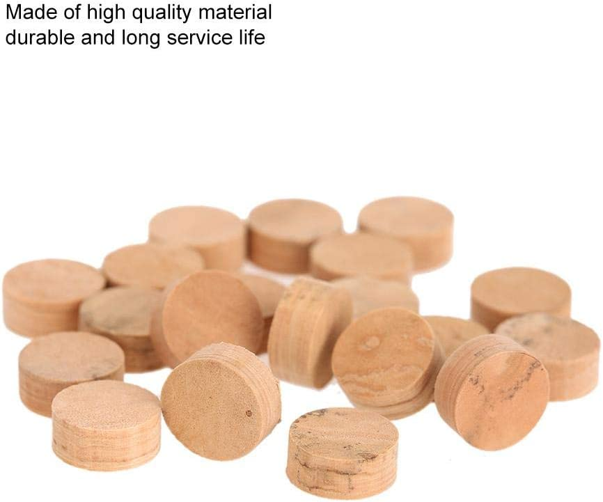 Ginyia Trumpet Cork Pads Set 20 Pcs Repairing Cork Pads for Musical Instruments Parts Musical Instruments Supplies Musical Instruments Accessories for Musical 20 Pcs Trumpet Cork Pads