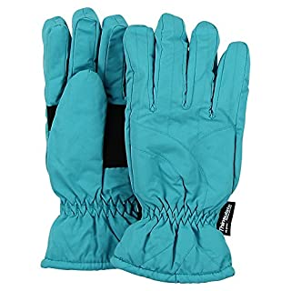 Urban Boundaries Women's Thinsulate Lined Waterproof Microfiber Winter Ski Gloves (Aqua, Large) (B01BLVB3XE) | Amazon price tracker / tracking, Amazon price history charts, Amazon price watches, Amazon price drop alerts