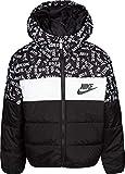 Nike Boy's Polyfill Blocked Insulated Puffer Jacket (Black, 6)