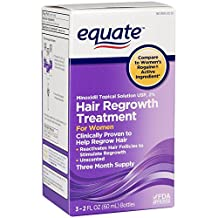 Equate Hair Regrowth Topical Solution for Women, 3ct by Equate