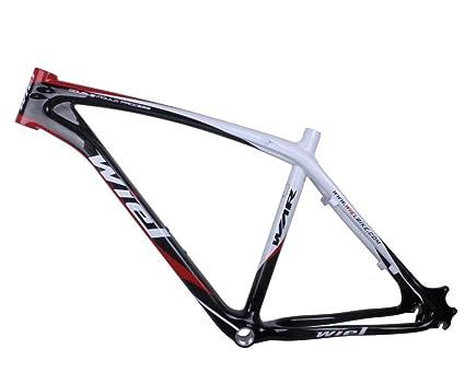 Amazon.com : Wiel Carbon Mountain Bicycle Frame 26er MTB Frameset ...