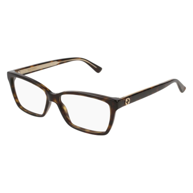 c054ce4dc695 Amazon.com: Eyeglasses Gucci GG 0312 O- 002 HAVANA /: Clothing