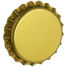 RiteBrew - Gold Oxygen Absorbing Bottle Caps - 144 pcs