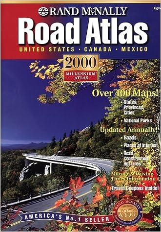 Rand McNally 2000 Road Atlas: United States, Canada, Mexico (Rand ...