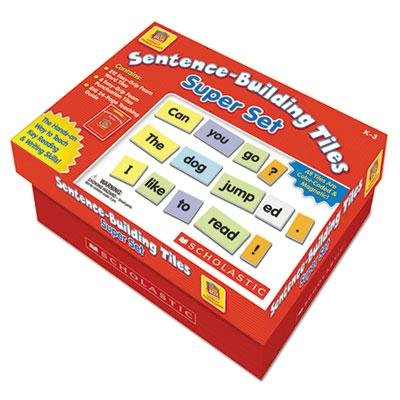 Brand New Scholastic Sentence-Building Tiles Super Set Ages 5-8