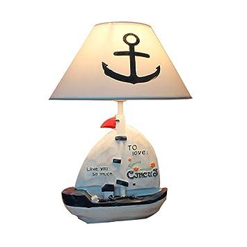 YGB Lámparas de Mesa Sala de Estar Resina Creativa Vela Hucha ...