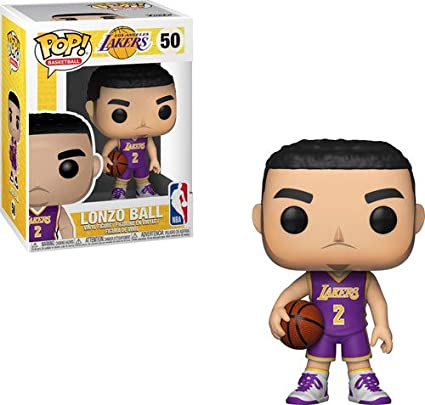 8bc63106225e Amazon.com  Funko POP! NBA  Lakers - Lonzo Ball  Toys   Games