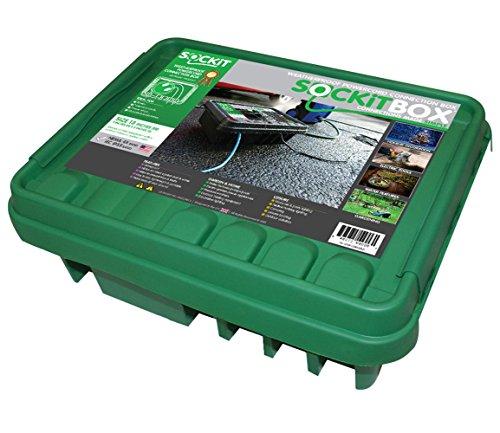 SOCKiTBOX 100533213 Green Large 10 Ea Weatherproof Box, Green