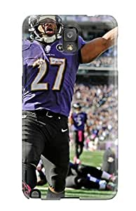 Rugged Skin Case Cover For Galaxy Note 3- Eco-friendly Packaging(ray Rice)