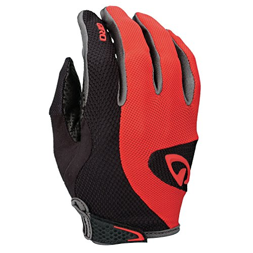 Giro Monaco LF Full-Fingered Cycling Glove (Red/Black, Small)