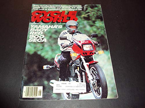 (Cycle World Aug 1983 Yamaha's Racy Red 900 Seca, Kawasaki KDX200)