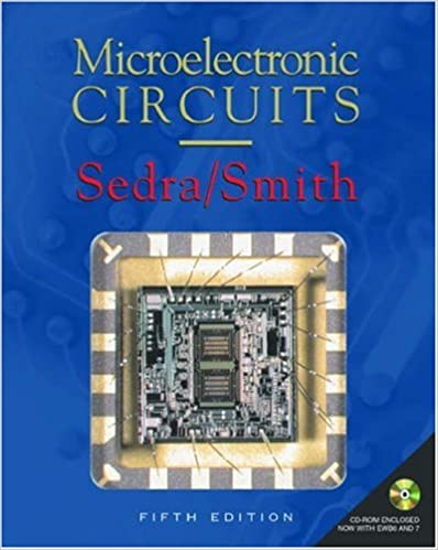 Laden Sie kostenlose E-Books für das iPad-Buch herunter Microelectronic Circuits: includes CD-ROM (The Oxford Series in Electrical and Computer Engineering) by Adel S. Sedra PDF MOBI