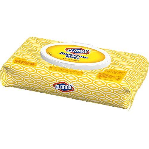 Clorox Disinfecting Wipes, Crisp Lemon – 1 Pack – 75 Wipes