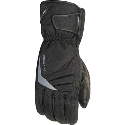 TourMaster Women's Cold-Tex 3.0 Motorcycle Gloves (Black, Medium)