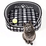 Deluxe Pet Round Bed for Cats...