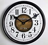 Cheap Old Paint Clock, 12″-48″, Whisper Quiet, Non-Ticking