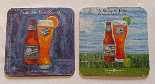 Spring Ale - Blue Moon Rising Moon Spring Ale 20 Beer Pub Bar Coasters