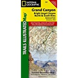 National Geographic Trails Illustrated - Grand Canyon Bright Angel Map - AZ