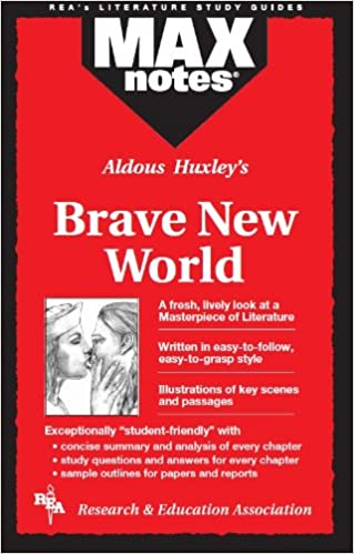 com brave new world maxnotes literature guides com brave new world maxnotes literature guides 9780878917518 sharon yunker english literature study guides books