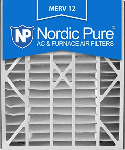 Nordic Pure 20x25x5ABM12-1 Merv 12 Air Bear Replacement