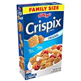 Kellogg's Breakfast Cereal, Crispix, Original, Low Saturated Fat, Family Size, 18 oz Box