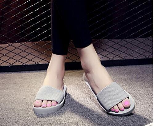 Summens Tongs femme Sandales Plateforme Pantoufles Flip-Flops Sandales été Chaussures Plage de Sable Thong Des Sandales