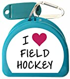 Zumoe Field Hockey Mouth Guard Case - I Love Field Hockey