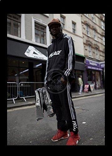 Minetom Uomo Cappuccio Maglione Moda Hip Hop Streetwear Felpa Sport Hoodies  con Sportivi Casual Danza Pantaloni Allenamento Running Jogging Pantaloni   ... 032d9dbcb23