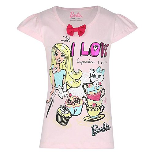 a3b101646663 Official Merchandise Barbie (2524) Pink Girl s T Shirt (11 - 12 ...