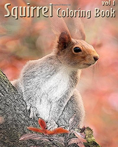 Squirrel : Coloring Book Vol.1: A Coloring Book Containing 30 Squirrel Designs in a Variety of Styles to Help you Relax (Volume 1) pdf