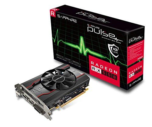 Sapphire Radeon PULSE RX 550 4GB GDDR5 HDMI / DVI-D / DP (UEFI) PCI-E Graphics Card 11268-01-20G by Sapphire Technology