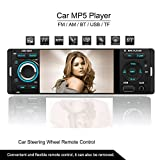 ATian 4.1 Inch TFT 1080P Touchscreen In-dash Radio, Bluetooth, MP3/MP4/MP5/USB/SD AM/FM Car Stereo Support USB SD Card AUX Input Wireless Remote Control ¡­