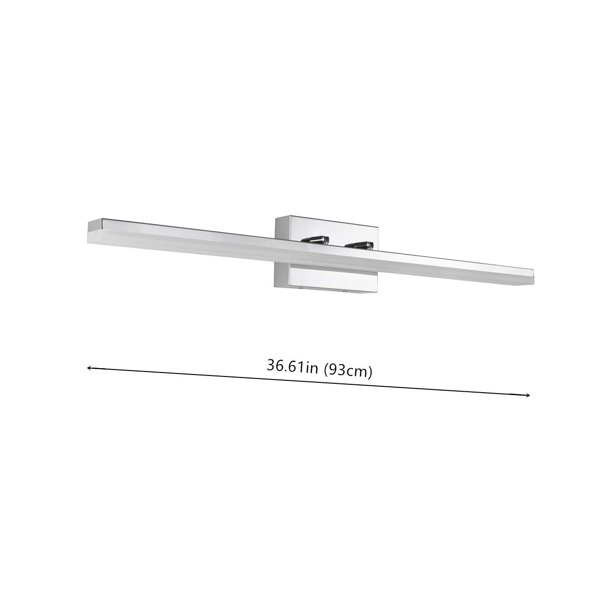 mirrea 36in Modern LED Vanity Light for Bathroom Lighting Dimmable 36w Cold White 5000K by mirrea (Image #7)