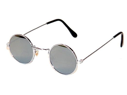 Tedd Haze 60's John Lennon Verres miroirs avec des lunettes sac TQXlD