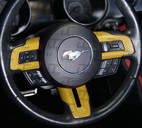 Carbon Fiber Steering Wheel Accent Kit