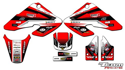 Team Racing Graphics kit for 2000-2003 Honda XR 50, ANALOG