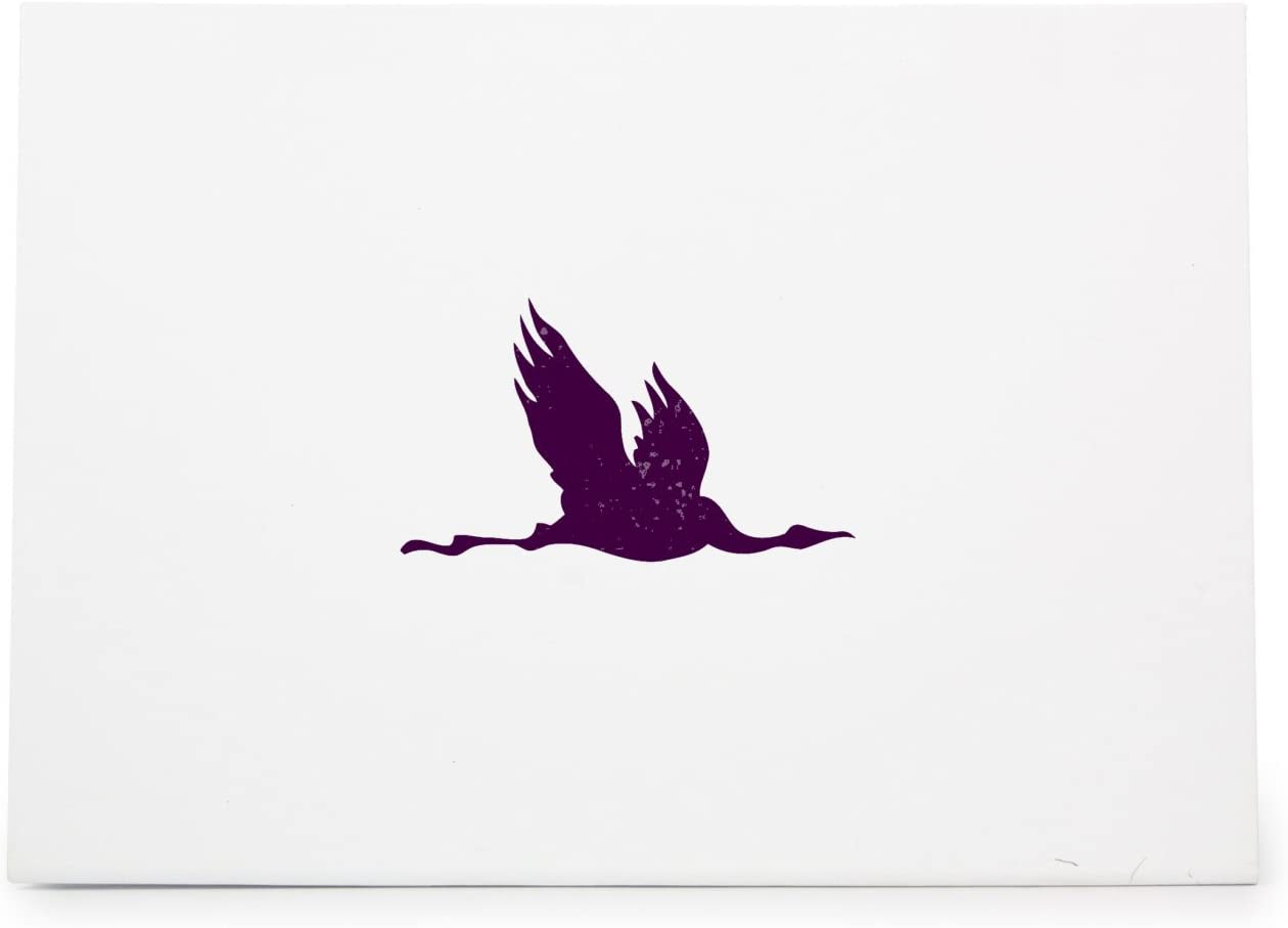 Flying Crane Bird 108 Style 1513 Rubber Stamp Shape great for Scrapbooking Card Making Ink Stamping Crafts Crafts