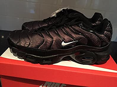 buy popular 56697 a854b Nike Air Max Plus TN Tuned 1 Mens Trainers UK9 Black Purple Rare Limited  Edition  Amazon.co.uk  Shoes   Bags