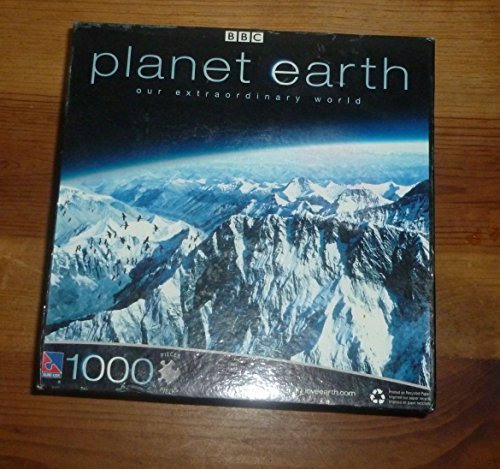 Price comparison product image BBC Planet Earth 1000 Piece Jigsaw Puzzle - Mountains
