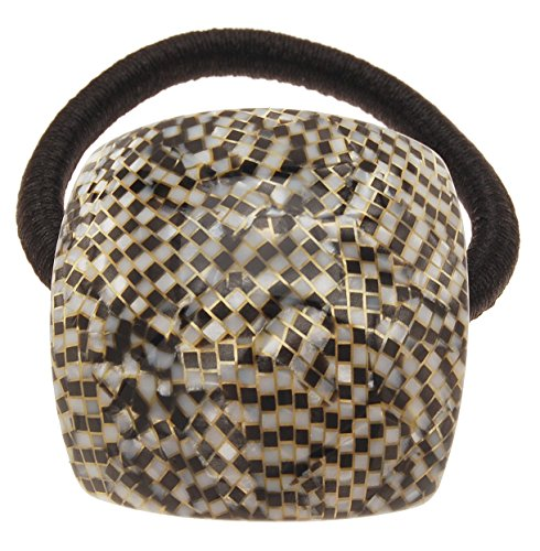 France Luxe Curved Square Pony - Opera Silver