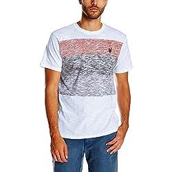 Zoo York Men's Switch Crew Short Sleeve Shirt, Lava, X-Large