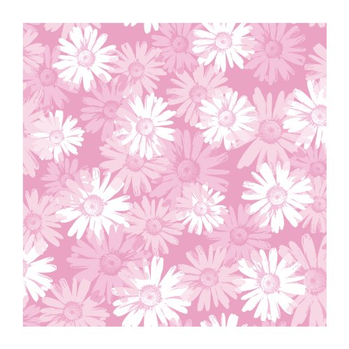 (York Wallcoverings BT2736SMP Daisy Camo 8 X 10 Wallpaper Memo Sample, Bubble Gum Pink/Carnation Pink/Bright White)