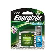 Energizer NH12BP4 - Batería/Pila recargable (Níquel-metal hidruro (NiMH), Cámara digital, Color blanco)