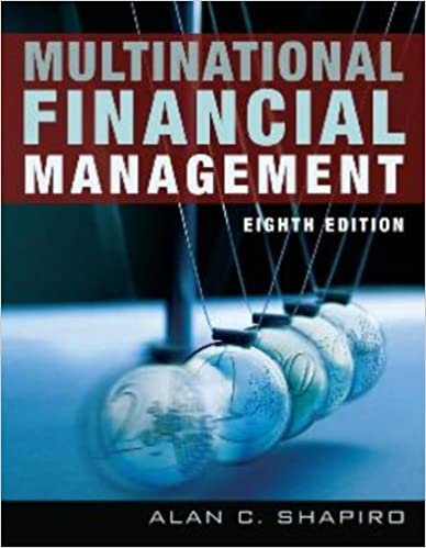 Multinational financial management 9780471737698 economics books multinational financial management 8th edition by alan c shapiro fandeluxe Image collections