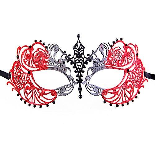 Luxury Mask Women's Laser Cut Metal Venetian Pretty