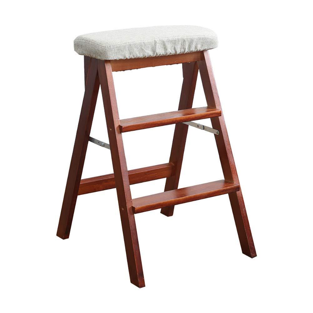 Rutschfeste Trittleiter,Ein Indoor-Leiter-Stuhl-Trittleiter Klappbarer Trittleiter F/ür Erwachsene SED Mehrzweck-Haushaltsleitern 3 Stufen F/ür /Ältere Menschen 330 Pfund Fassungsverm/ögen