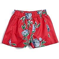Shorts Primavera Green Vermelho - Infantil Menina