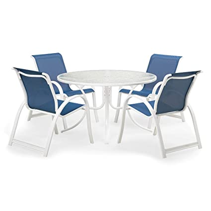 Amazon Com Telescope Casual Aruba Ii Sling Dining Set Garden Outdoor
