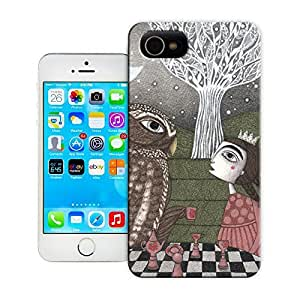 Once Upon a Time- Fairy Tale Design Hard Snap on Phone Case Best Durable Fit iPhone 5/5s